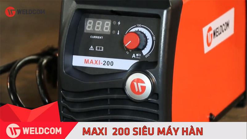 Máy Hàn Que Điện Tử Weldcom Maxi 200 Tại Long Khánh