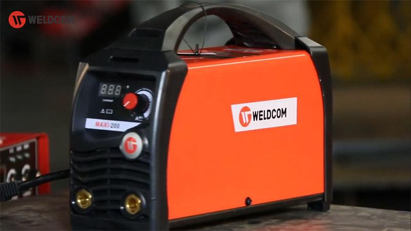 Máy Hàn Que Điện Tử Weldcom Maxi 200 Chất Lượng
