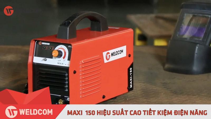 Máy Hàn Que Weldcom Maxi 150 Chính hãng