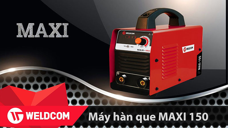 Máy Hàn Que Weldcom Maxi 150 Giá Tốt